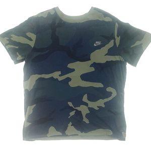 Men's Nike Camo Tee Shirt